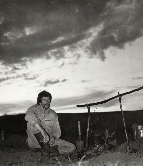 А.Е. Черенков – начальник орнитологической экспедиции СГИАПМЗ. 1990-е годы.