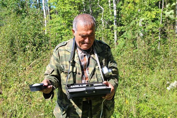 Измерение освещенности в лесных экосистемах. П.А. Феклистов. 2012 год.