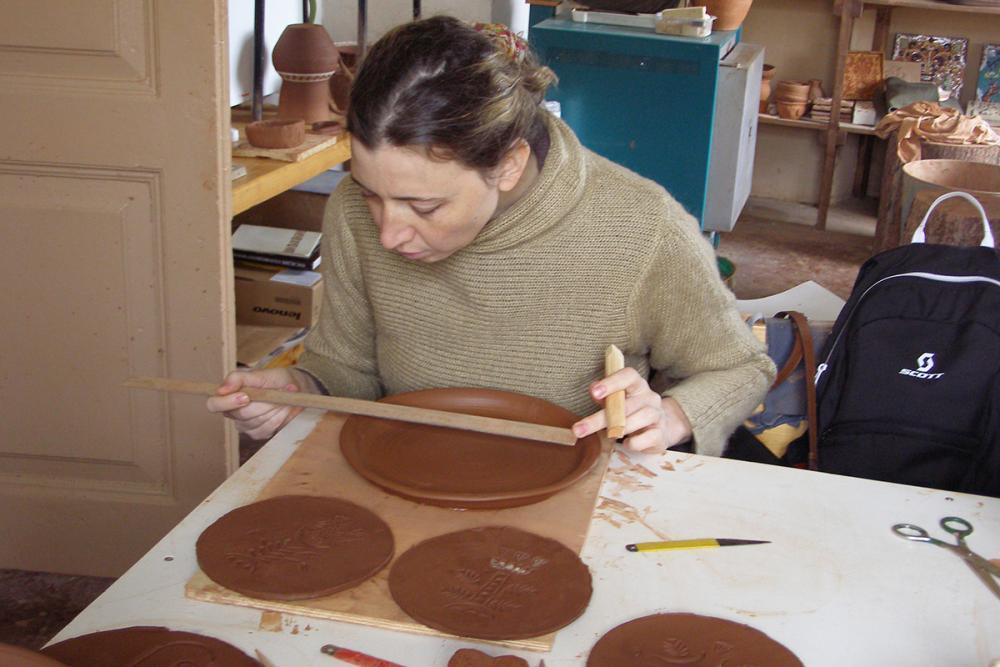 В емецкой традиции. Подготовка к работе с деревянными печатями (чеканами)
