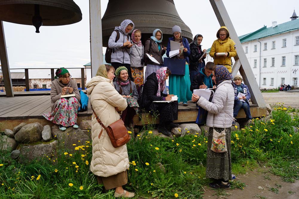 Занятие Базилевской Л.Н. «Особенности монастырской трапезы»
