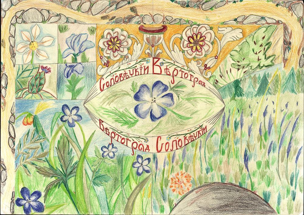 Обложка книги «Вертоград Соловецкий»