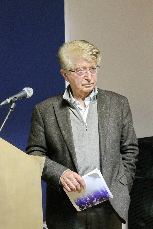Профессор Жорж Нива (Женевский университет) на конференции