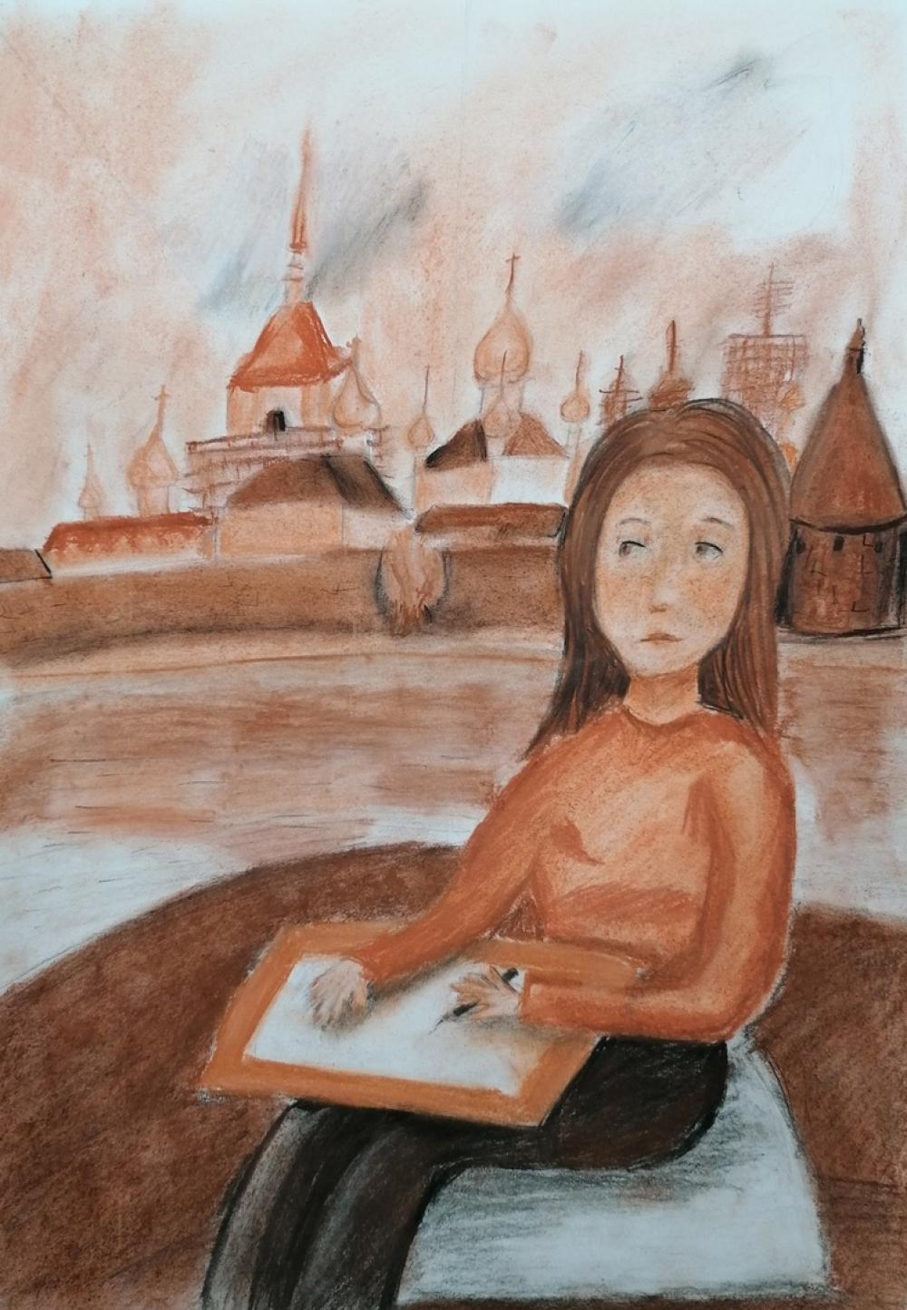 Даниелян Наре, 11 лет, «На пленэре»