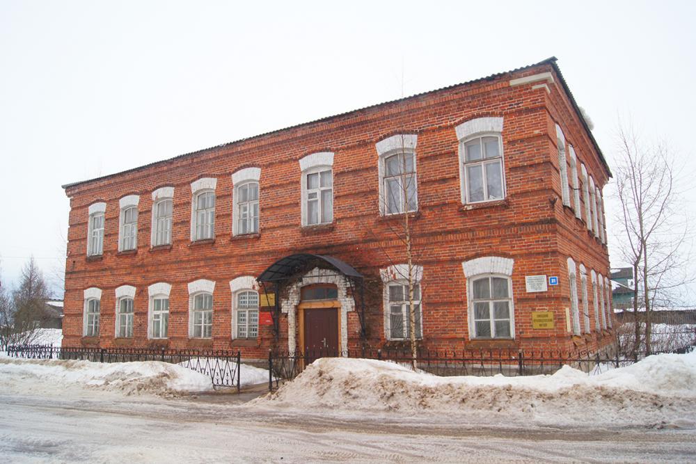 Здание Емецкого краеведческого музея