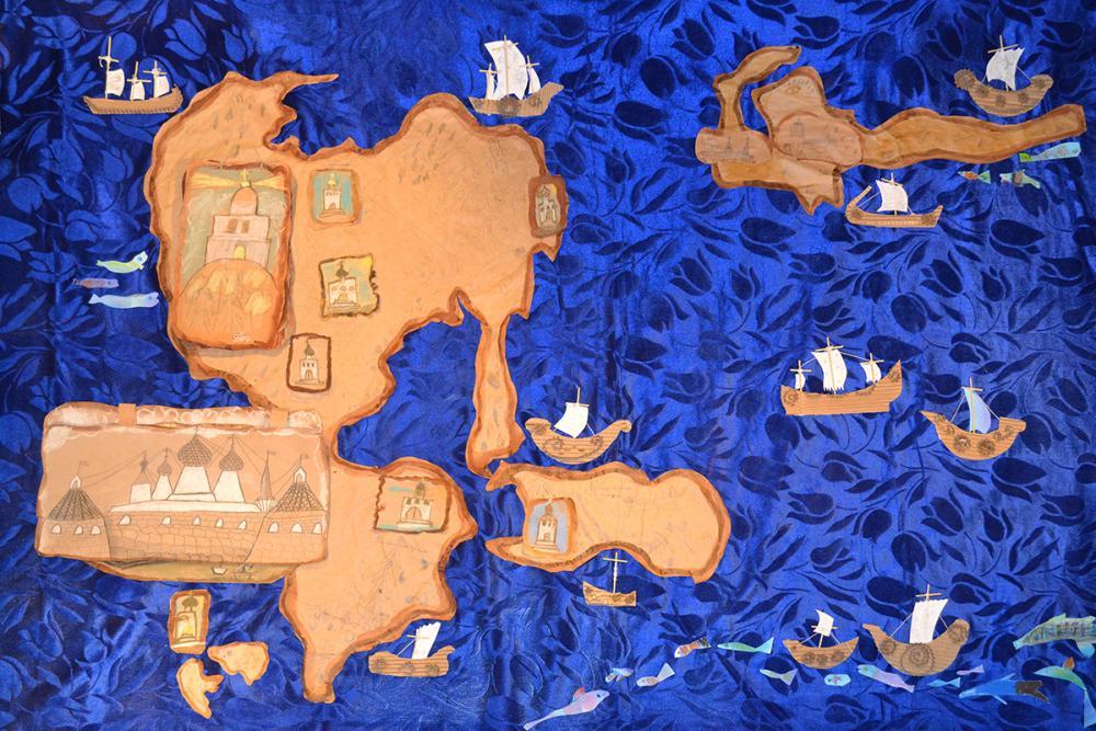 Детская карта Соловецкого архипелага