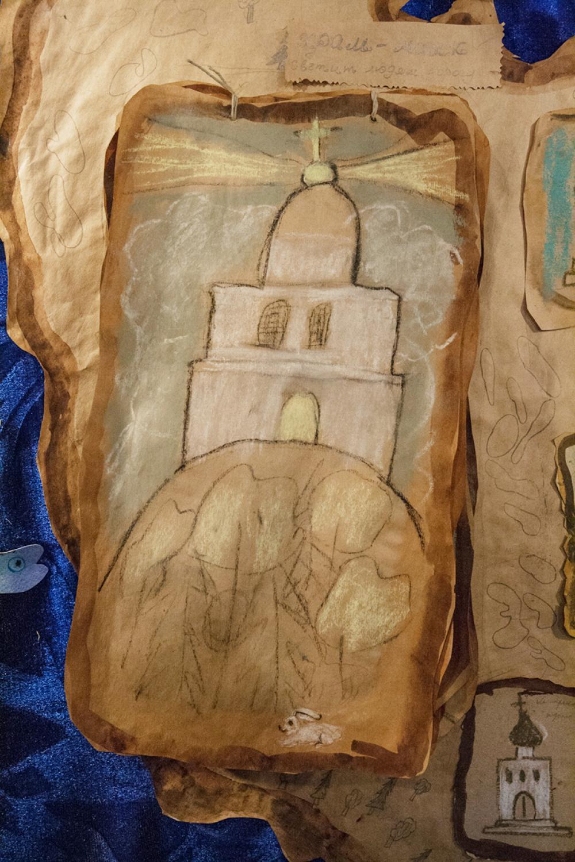 Храмы-маяки – указатели верного пути. Козлова Карина, 10 лет