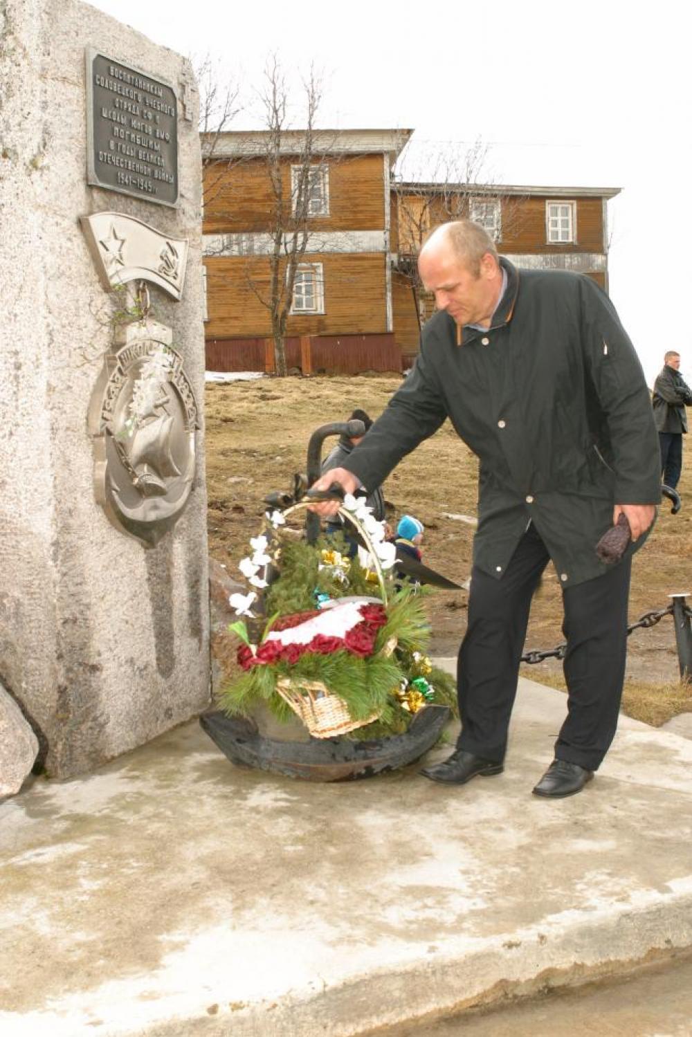 М.В. Лопаткин. Фото 2004 года из архива Соловецкого музея-заповедника.