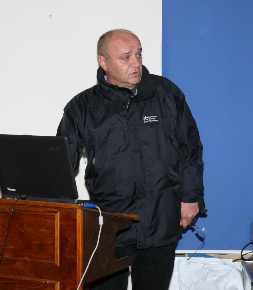 М.В. Лопаткин. Фото 2008 года из архива Соловецкого музея-заповедника.