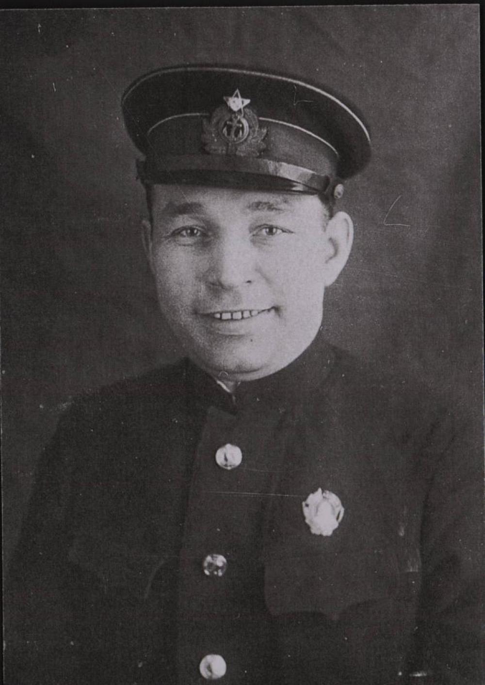 С.С. Шахов - комиссар СШЮ ВМФ в 1943-1945 гг.
