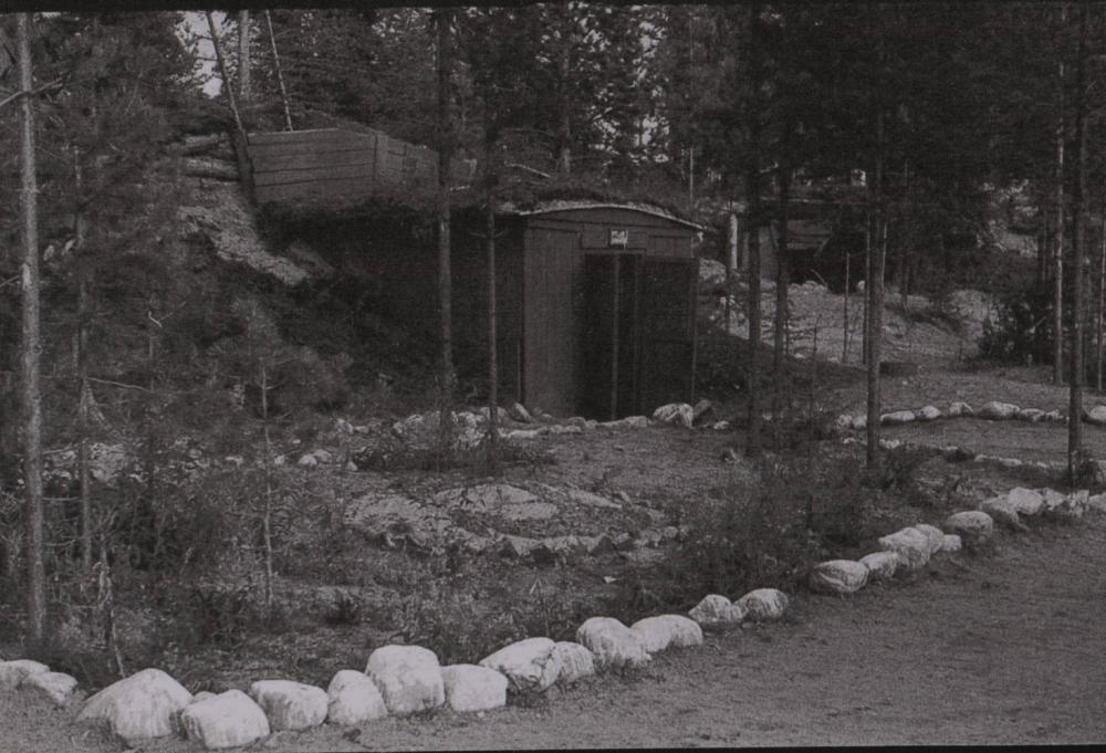Землянки Школы юнг ВМФ в районе Савватьево. Фото 1943-1945гг.