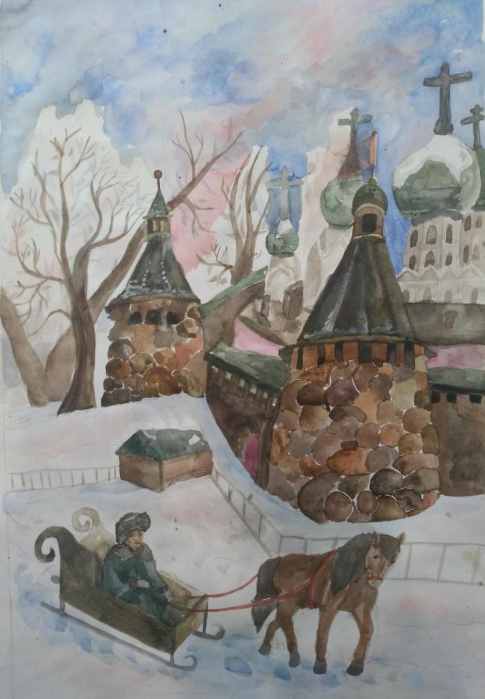 Герасимова А. Зима на Соловках
