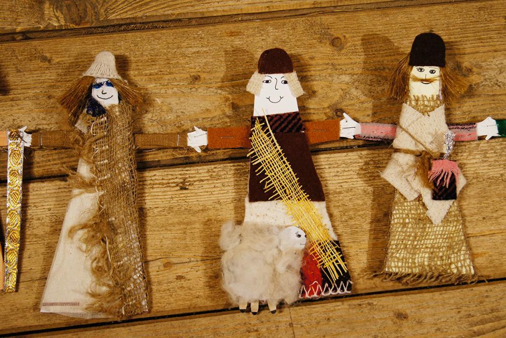 Пастухи в праздничном хороводе