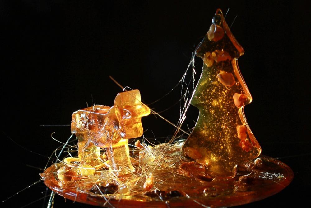 Фрагмент верхнего яруса Масленичного пряника