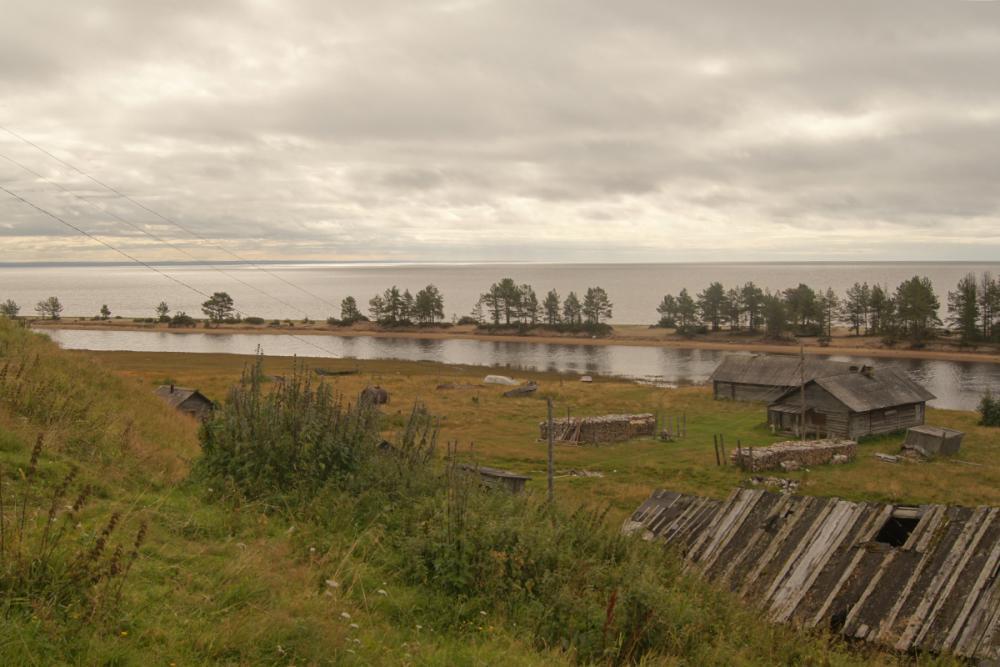 Горизонты деревни Пурнема