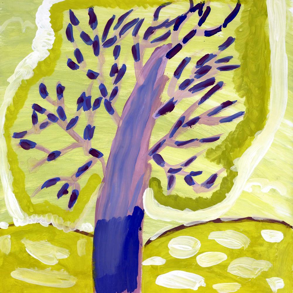 Работа из серии «Чудо-дерево». Лялина Ульяна, 8 лет