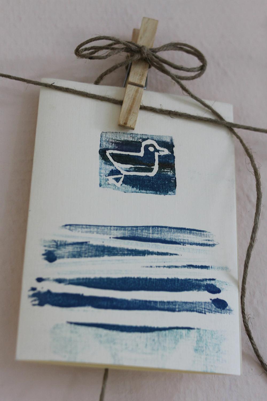 Памятная открытка из серии «Морская гладь». Автор – Анастасия Нургалиева (УдГУ)