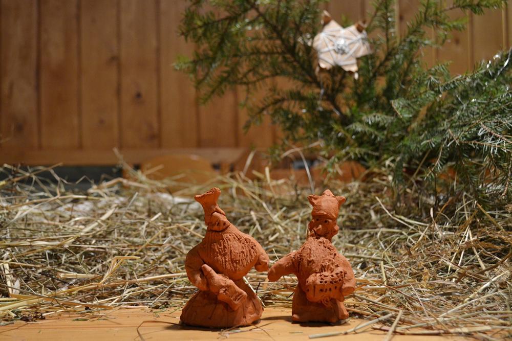 Волхвы у Рождественского стола в Морском музее